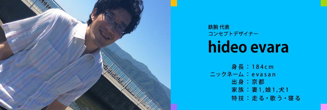 鉄腕代表コンセプトデザイナー江原英男